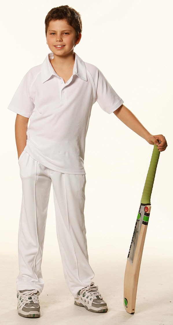 PS29K kid's Cricket Short Sleeve Polo