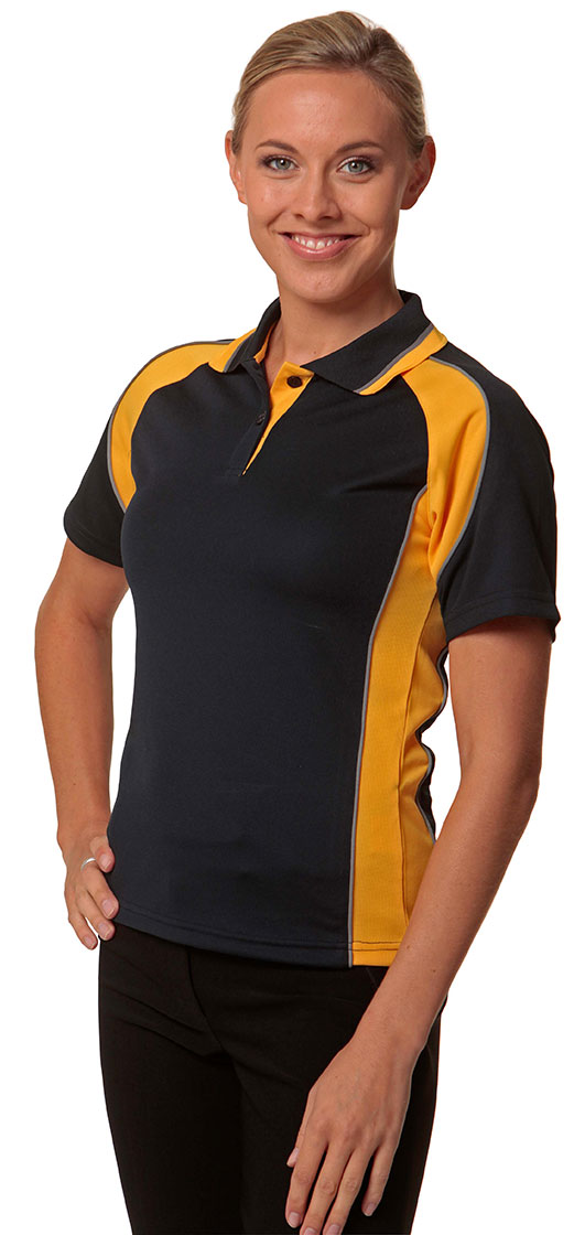PS50 Ladies' CoolDry® Mini Waffle Short Sleeve Polo