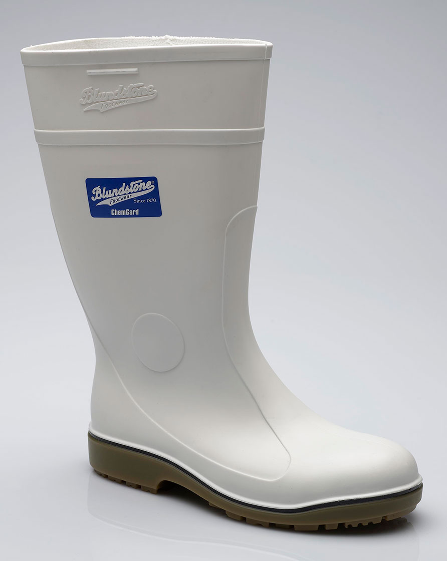 004 Blundstone White Waterproof Gumboot
