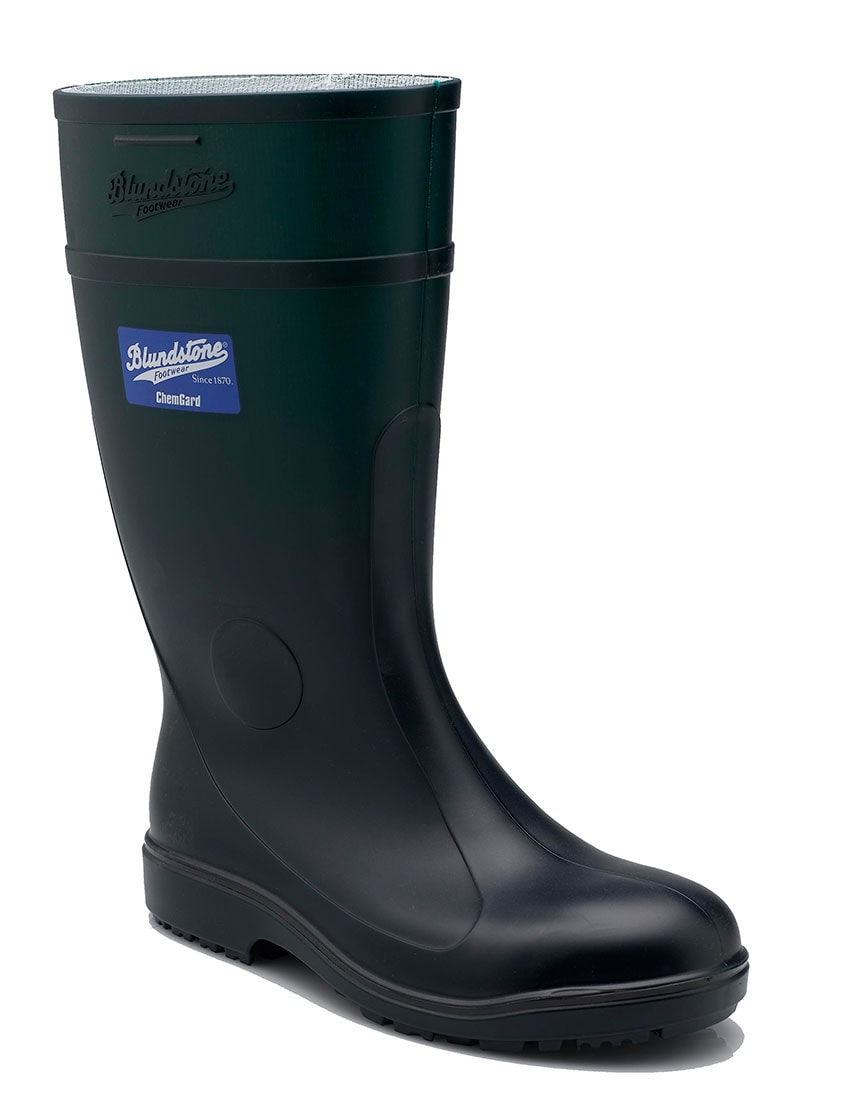 005 Blundstone Green Waterproof Gumboot