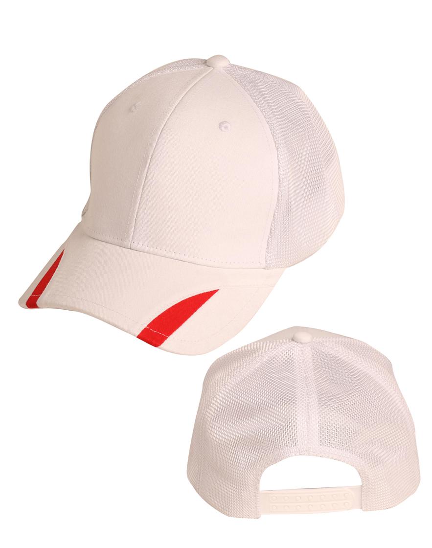 CH41 White net cap