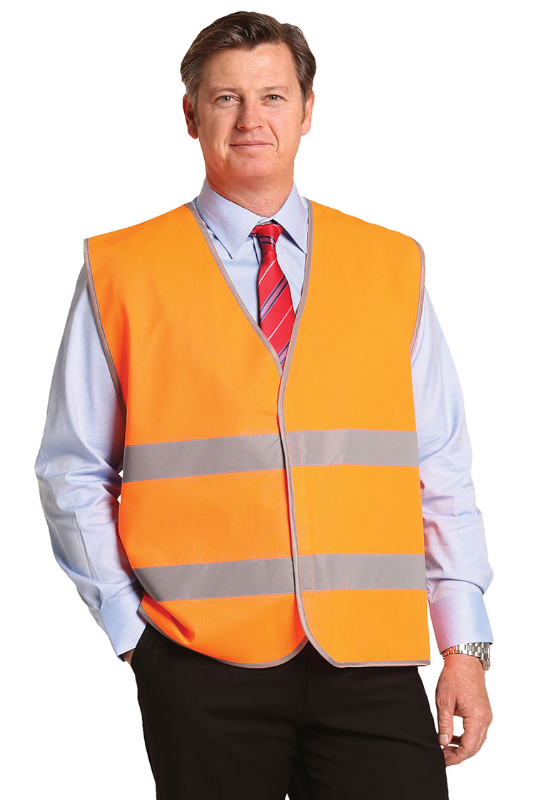 SW44 Hi-Vis Safety Vest With Reflective Tapes