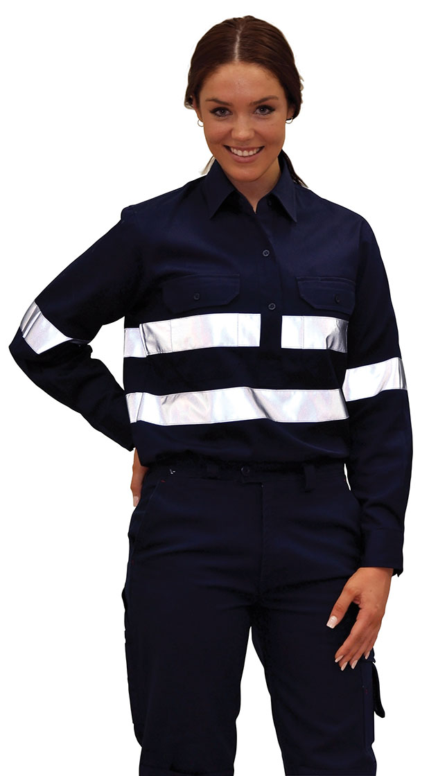 WT06 Durable Long Sleeve Work Shirt