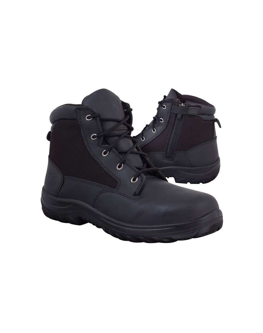 26-660 Oliver 140mm Zip Sided Boot With Cordura