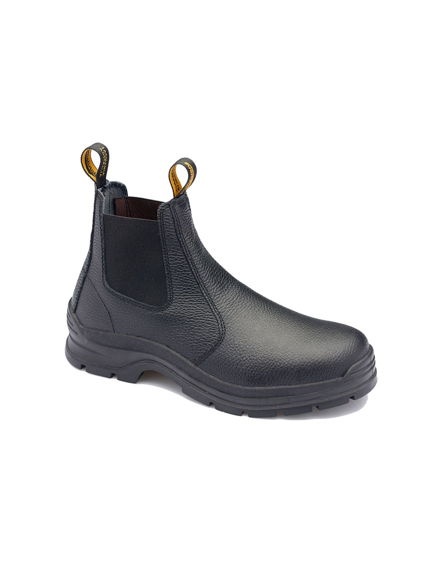 310 Blundstone Black Rambler Leather Boot