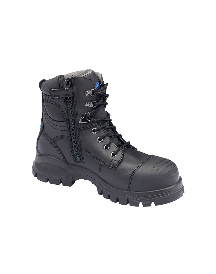 997 Black Ankle Safety Boot