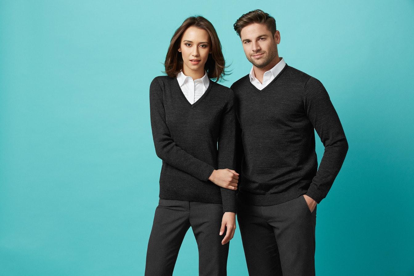 LP618L Ladies' Wool Blend Pullover